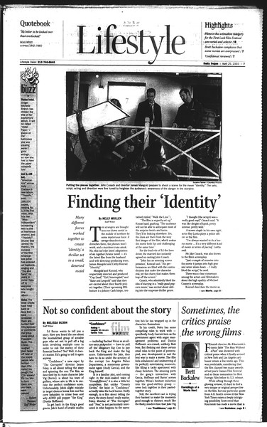 Daily Trojan, Vol. 148, No. 63, April 25, 2003