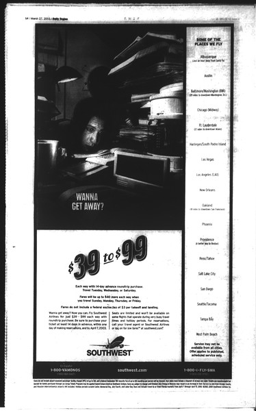 Daily Trojan, Vol. 148, No. 42, March 27, 2003