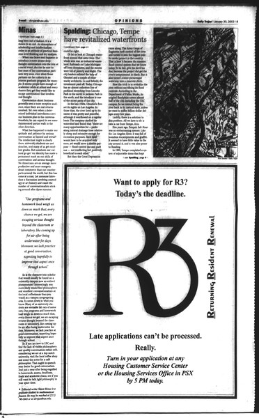 Daily Trojan, Vol. 148, No. 11, January 30, 2003