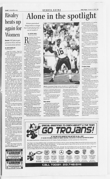 Daily Trojan, Vol. 141, No. 28, October 06, 2000