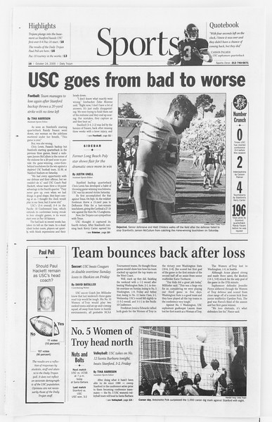 Daily Trojan, Vol. 141, No. 39, October 24, 2000