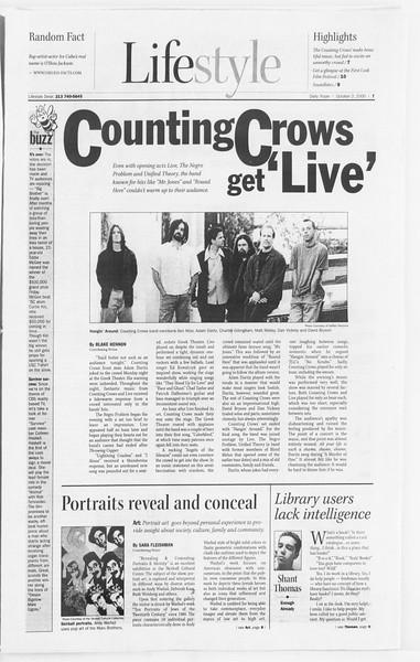 Daily Trojan, Vol. 141, No. 24, October 02, 2000