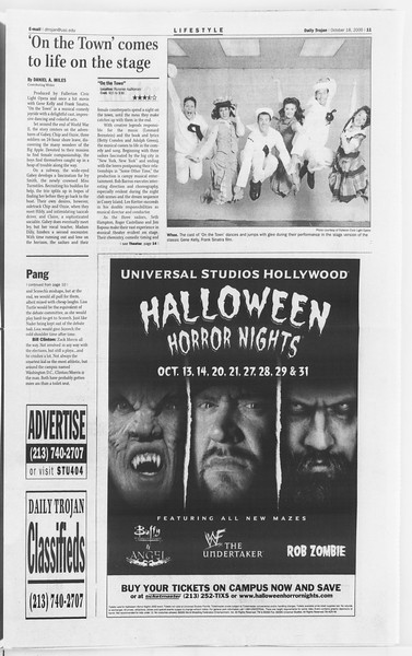 Daily Trojan, Vol. 141, No. 36, October 18, 2000