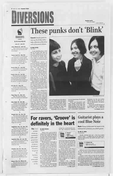 Summer Trojan, Vol. 140, No. 5, June 14, 2000