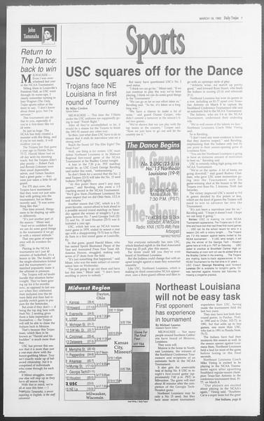 Daily Trojan, Vol. 117, No. 44, March 19, 1992