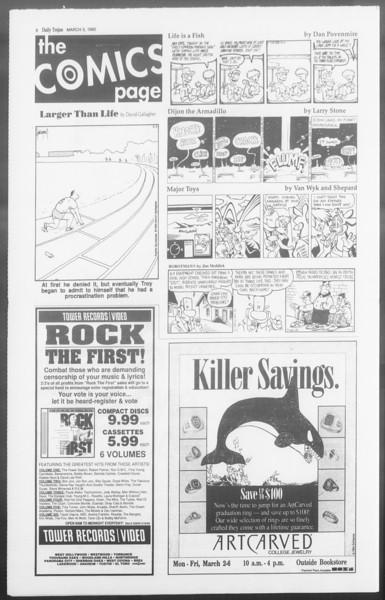 Daily Trojan, Vol. 117, No. 34, March 05, 1992