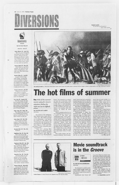 Summer Trojan, Vol. 140, No. 6, June 21, 2000
