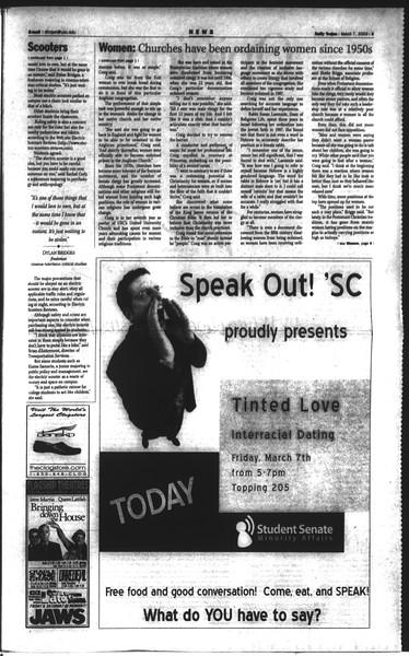 Daily Trojan, Vol. 148, No. 35, March 07, 2003