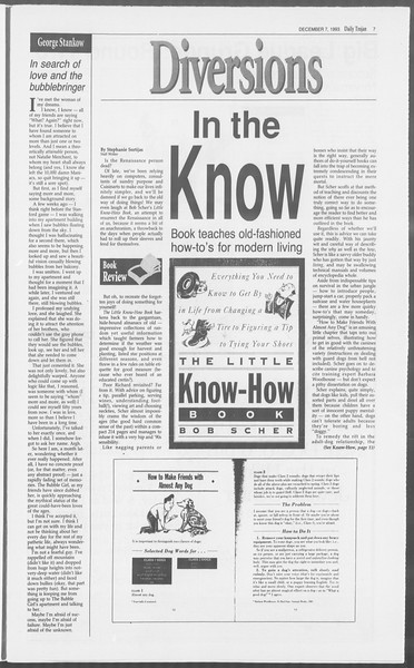 Daily Trojan, Vol. 121, No. 65, December 07, 1993