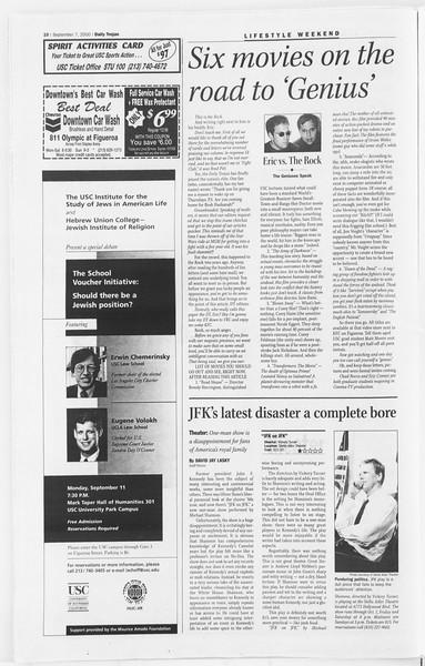 Daily Trojan, Vol. 141, No. 7, September 07, 2000