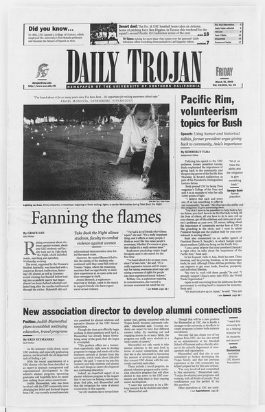Daily Trojan, Vol. 139, No. 48, March 31, 2000