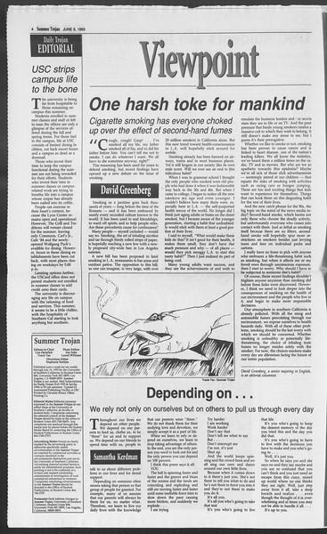 Summer Trojan, Vol. 120, No. 5, June 09, 1993