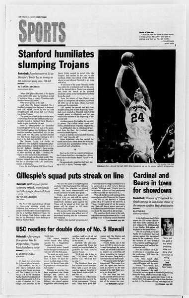Daily Trojan, Vol. 139, No. 35, March 03, 2000