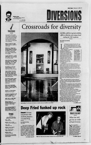 Daily Trojan, Vol. 139, No. 15, February 02, 2000