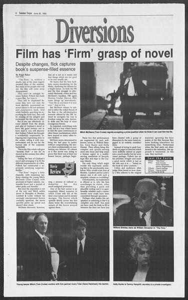 Summer Trojan, Vol. 120, No. 8, June 30, 1993