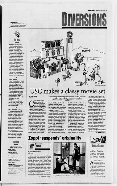 Daily Trojan, Vol. 139, No. 32, February 29, 2000