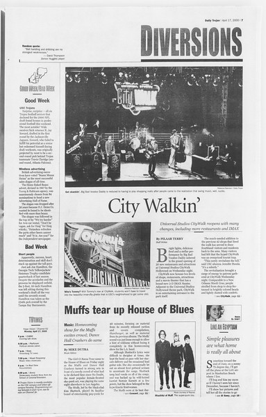 Daily Trojan, Vol. 139, No. 59, April 17, 2000