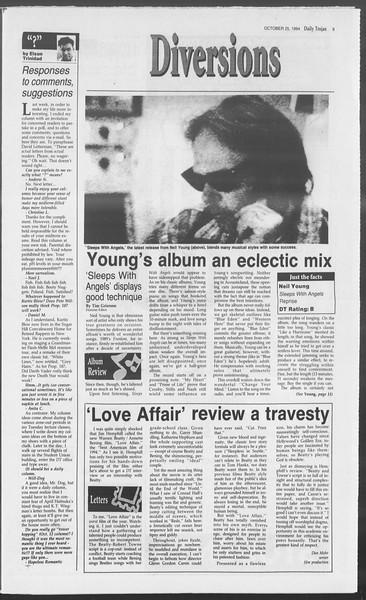 Daily Trojan, Vol. 123, No. 38, October 26, 1994