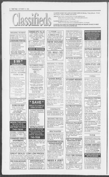 Daily Trojan, Vol. 121, No. 31, October 13, 1993