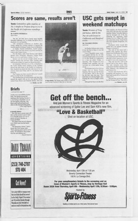 Daily Trojan, Vol. 139, No. 54, April 10, 2000