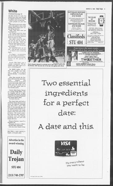 Daily Trojan, Vol. 122, No. 35, March 04, 1994