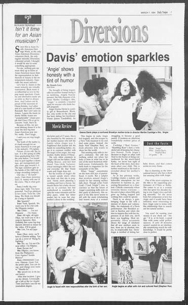 Daily Trojan, Vol. 122, No. 36, March 07, 1994