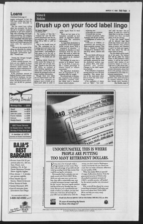 Daily Trojan, Vol. 119, No. 43, March 17, 1993