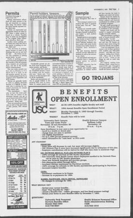 Daily Trojan, Vol. 121, No. 48, November 08, 1993