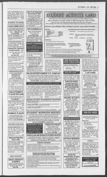 Daily Trojan, Vol. 121, No. 3, September 01, 1993