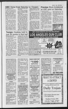 Daily Trojan, Vol. 119, No. 35, March 05, 1993