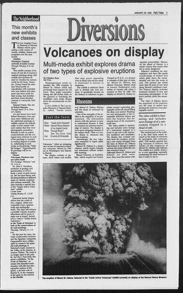 Daily Trojan, Vol. 119, No. 12, January 29, 1993