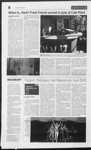 Daily Trojan, Vol. 160, No. 14, January 30, 2007