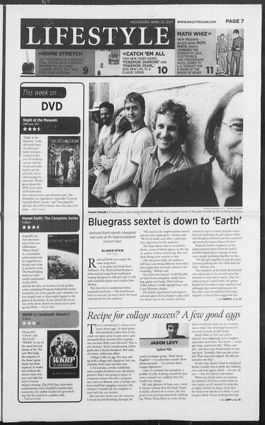 Daily Trojan, Vol. 160, No. 66, April 25, 2007