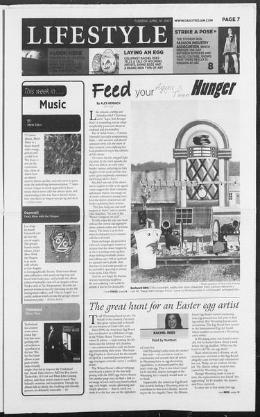 Daily Trojan, Vol. 160, No. 55, April 10, 2007