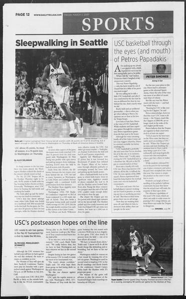Daily Trojan, Vol. 160, No. 35, March 02, 2007