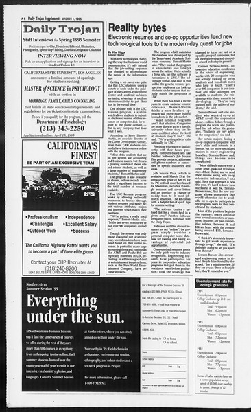 Daily Trojan, Vol. 124, No. 31, March 01, 1995