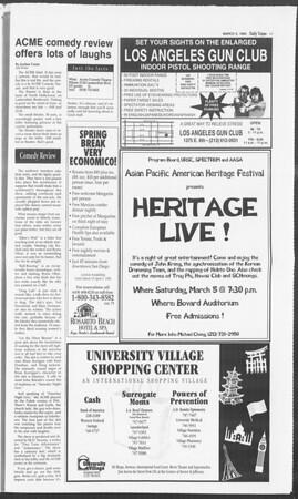 Daily Trojan, Vol. 122, No. 34, March 03, 1994