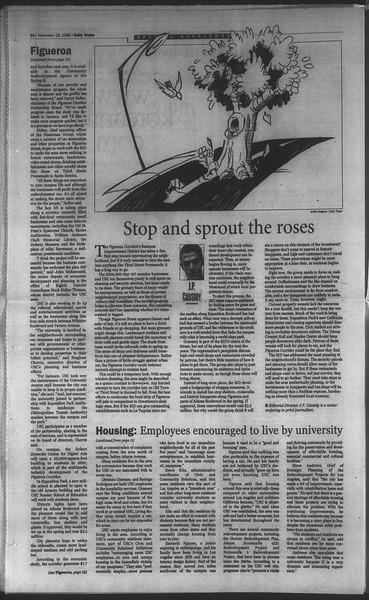 Daily Trojan, Vol. 135, No. 53, November 18, 1998