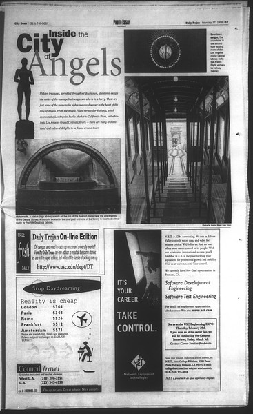 Daily Trojan, Vol. 136, No. 21, February 17, 1999