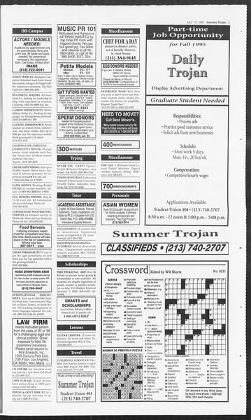 Summer Trojan, Vol. 125, No. 9, July 12, 1995