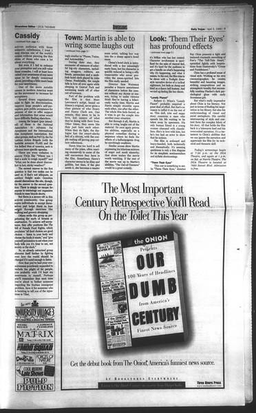 Daily Trojan, Vol. 136, No. 47, April 05, 1999