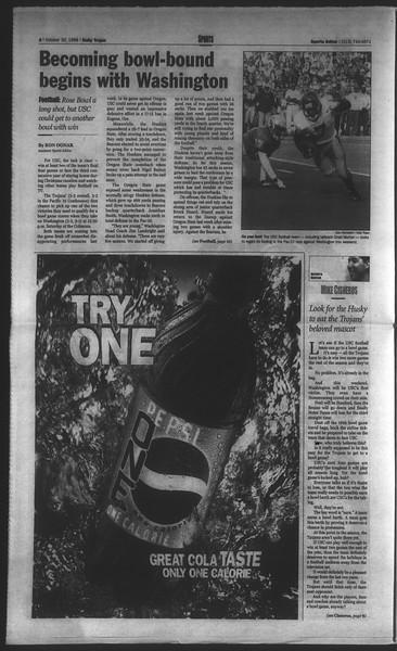 Daily Trojan, Vol. 135, No. 41, October 30, 1998
