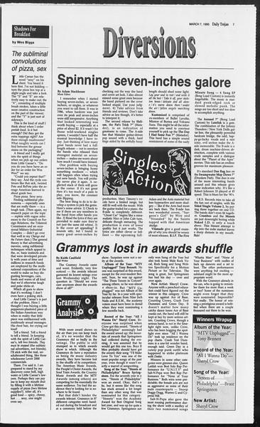 Daily Trojan, Vol. 124, No. 35, March 07, 1995