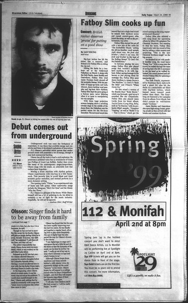 Daily Trojan, Vol. 136, No. 39, March 24, 1999