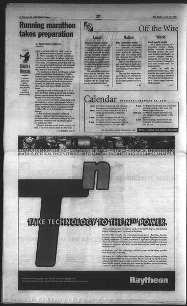 Daily Trojan, Vol. 136, No. 26, February 24, 1999
