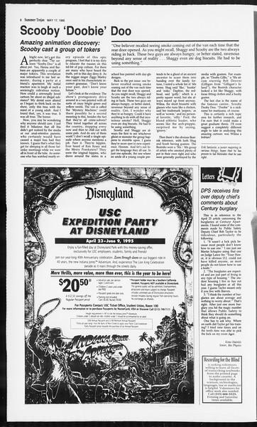 Summer Trojan, Vol. 125, No. 1, May 17, 1995
