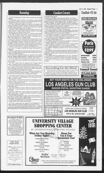 Summer Trojan, Vol. 125, No. 8, July 05, 1995