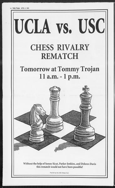 Daily Trojan, Vol. 124, No. 50, April 05, 1995