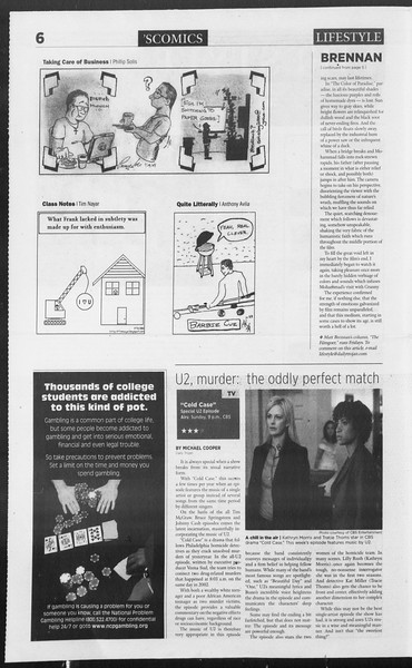 Daily Trojan, Vol. 160, No. 12, January 26, 2007