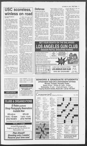 Daily Trojan, Vol. 123, No. 32, October 18, 1994